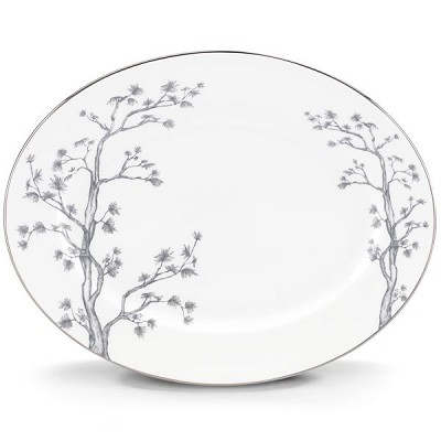 Lenox  GL WILLOW DW OVAL PLATTER 13.0 13.0 l