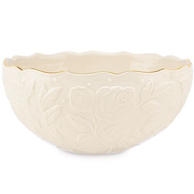 Lenox  IVORY ROSE SERVING BOWL 8 d