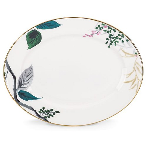 Kate Spade BIRCH WAY DW OVAL PLATTER 13.0