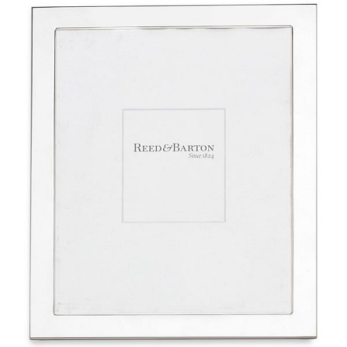 REED AND BARTON PERSONALIZED NARROW BORDER FRAME 8X10