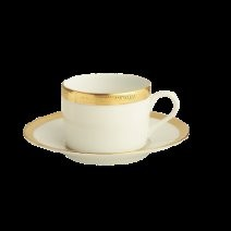 Robert Haviland MALMAISON GOLD Tea Cup and Saucer