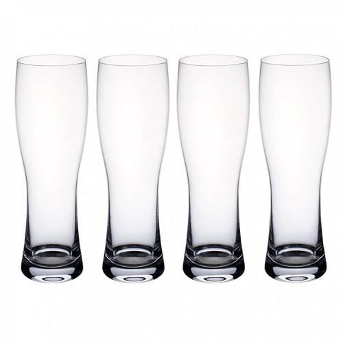 Villeroy and Boch Purismo Beer Wheat Beer Pilsner : Set of 4