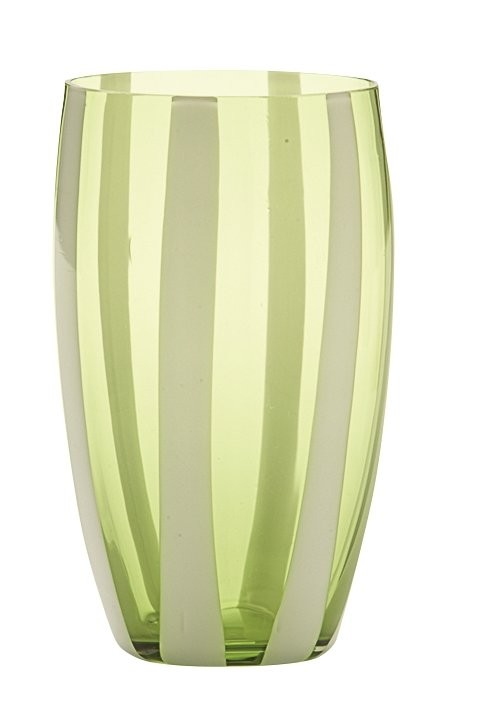 Zafferano Gessato Tumbler Apple Green