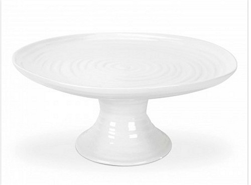 Portmeirion Sophie Conran White Footed Cake Plate