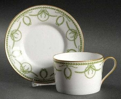 Faberge Cheverny Green 65 Pc Set